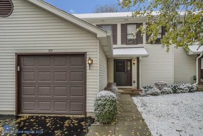 513 Villa Circle Drive UNIT 31, Palatine, IL 60067 - #: 10566184