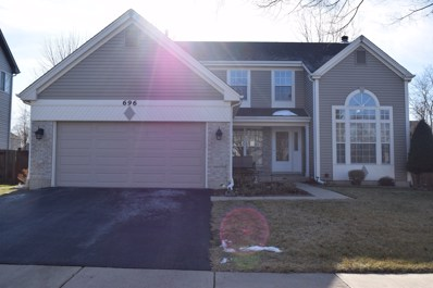 696 Huntington Drive, Carol Stream, IL 60188 - #: 10580764