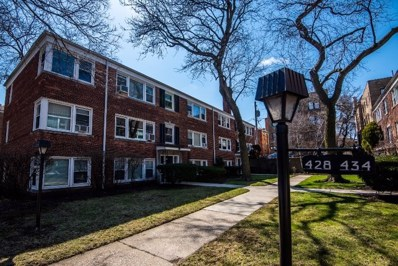 428 Elmwood Avenue UNIT 1W, Evanston, IL 60202 - #: 10591395