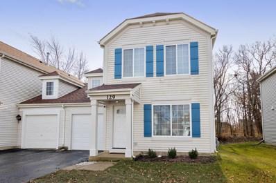 129 W Aldridge Lane, Round Lake, IL 60073 - #: 10597900