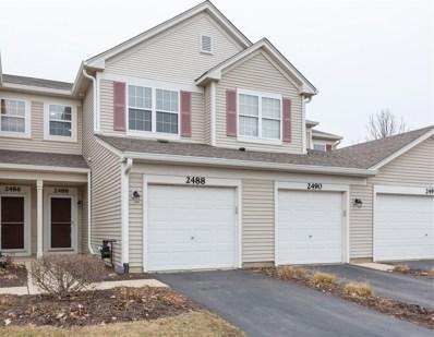 2488 Golf Ridge Circle UNIT 2488, Naperville, IL 60563 - #: 10598343