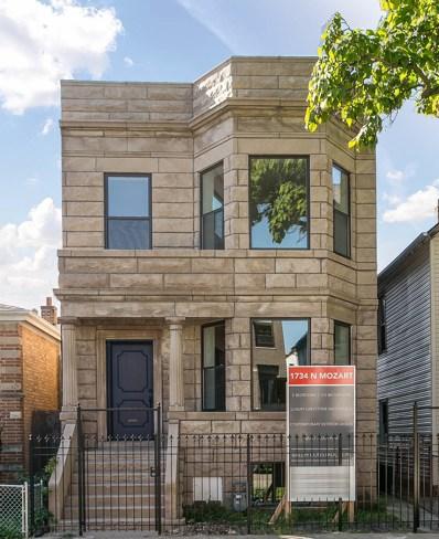 1734 N Mozart Street, Chicago, IL 60647 - #: 10599658