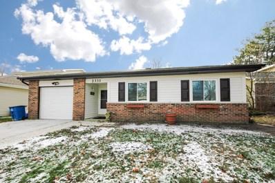 2331 Sunnydale Drive, Woodridge, IL 60517 - #: 10599983