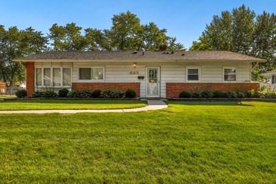 445 Ashland Street, Hoffman Estates, IL 60169 - #: 10601995