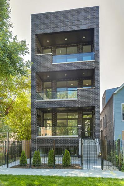 1818 N Sawyer Avenue UNIT 2, Chicago, IL 60647 - #: 10602997