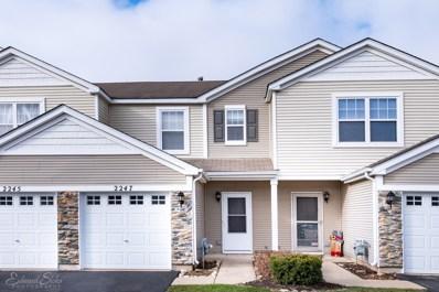 2247 Flagstone Lane UNIT 2247, Carpentersville, IL 60110 - #: 10603735