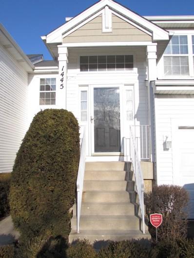 1445 Meadowsedge Lane UNIT 1445, Carpentersville, IL 60110 - #: 10604489