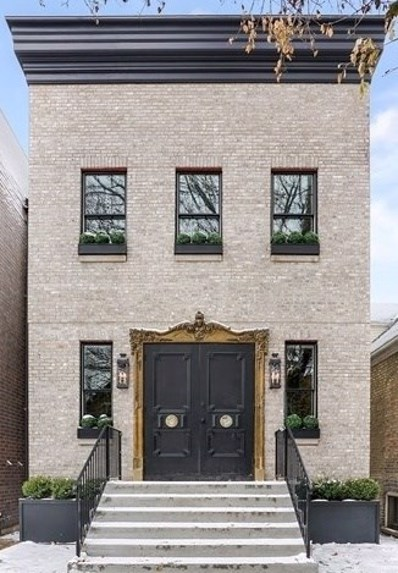 1906 N Hoyne Avenue, Chicago, IL 60647 - #: 10605860