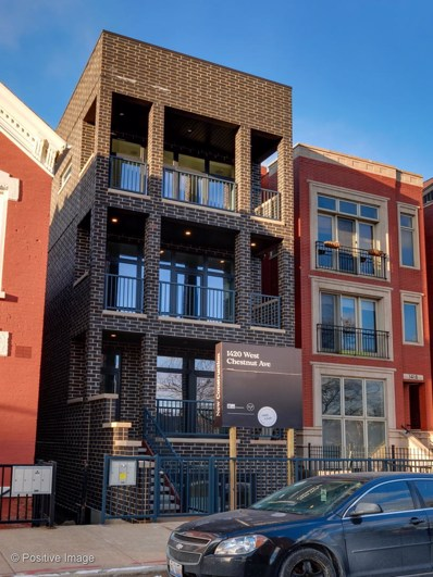 1425 W Walton Street UNIT 3, Chicago, IL 60642 - #: 10607546