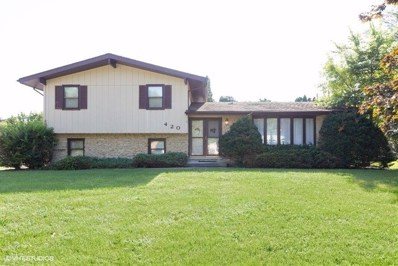 420 Meadow Wood Drive, Joliet, IL 60431 - #: 10607890
