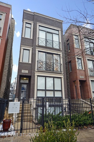 1022 N PAULINA Street UNIT 2, Chicago, IL 60622 - #: 10611010