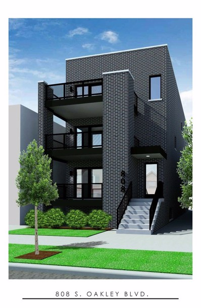 808 S Oakley Avenue UNIT 1E, Chicago, IL 60612 - #: 10611723