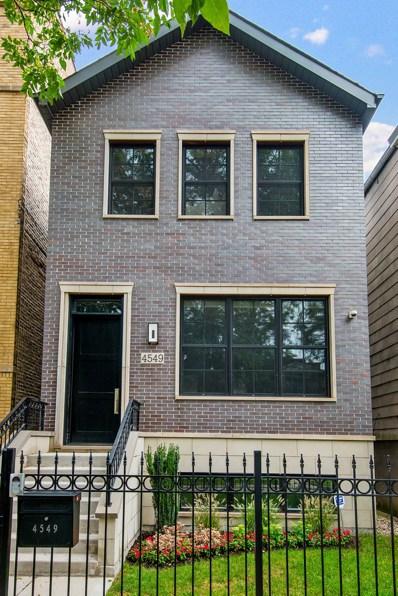 4549 N Claremont Avenue, Chicago, IL 60625 - #: 10613068