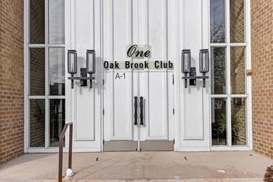 1 Oak Brook Club Drive UNIT A312, Oak Brook, IL 60523 - #: 10615828