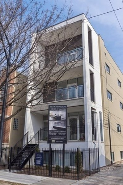 2313 N Hamilton Street UNIT 2, Chicago, IL 60647 - MLS#: 10623934