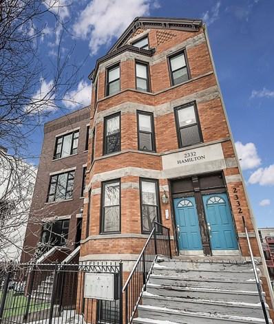 2332 N Hamilton Avenue UNIT 2A, Chicago, IL 60647 - #: 10638019
