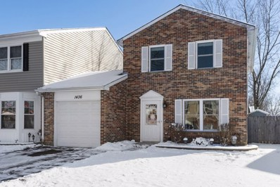 1436 Walnut Circle, Carol Stream, IL 60188 - #: 10638382