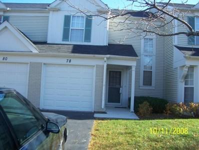 78 Marion Lane, Streamwood, IL 60107 - #: 10662753