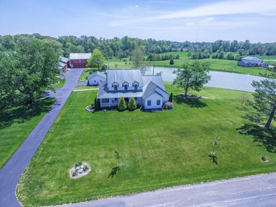3922 E Old Trail Road, Columbia City, IN 46725 - #: 201721926