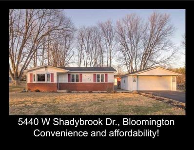 5440 W Shadybrook Drive, Bloomington, IN 47403 - #: 201803477