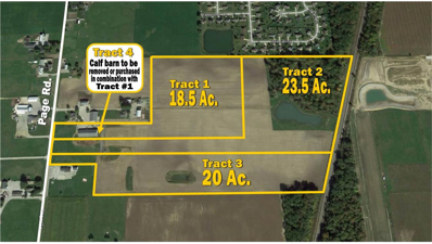 12500 Page, Tract 1 Road, Grabill, IN 46741 - MLS#: 201805293