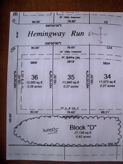 5818 Hemingway Run, Fort Wayne, IN 46814 - #: 201808887