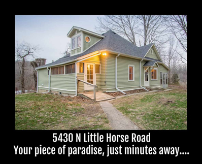 5430 N Little Horse Road, Bloomington, IN 47408 - MLS#: 201810043