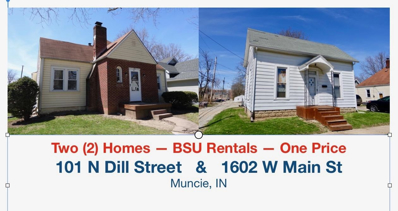 101 N Dill, Muncie, IN 47304 - #: 201816873