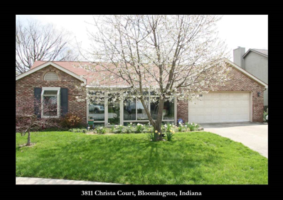 3811 S Christa Court, Bloomington, IN 47401 - #: 201817085