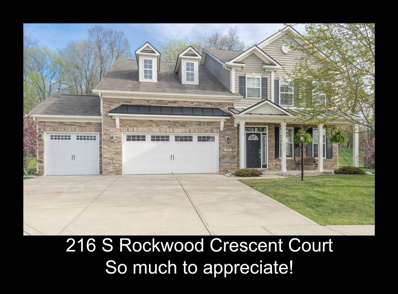216 S Rockwood Crescent Court, Bloomington, IN 47403 - MLS#: 201818473