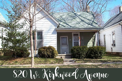 820 W Kirkwood Avenue, Bloomington, IN 47404 - #: 201821348