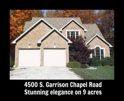 4500 S Garrison Chapel Road, Bloomington, IN 47403 - #: 201823594