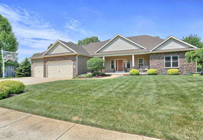 375 N Lake Placid Drive, Warsaw, IN 46582 - #: 201824997