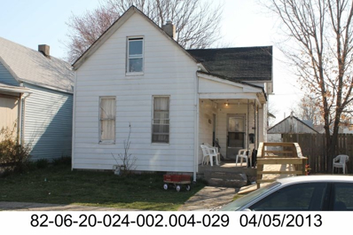 319 N Sherman St, Evansville, IN 47710 - #: 201828795
