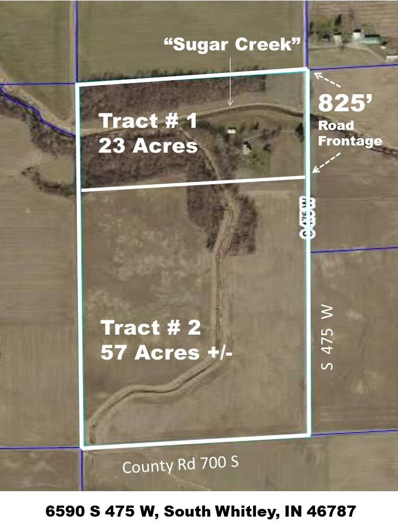 S 475 W, South Whitley, IN 46787 - #: 201836809