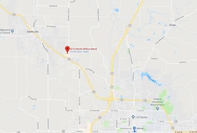 4213 N Willow Bend, Bloomington, IN 47404 - #: 201840696
