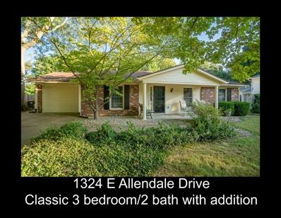 1324 E Allendale Drive, Bloomington, IN 47401 - MLS#: 201845535
