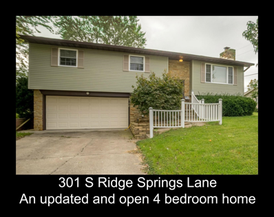 301 S Ridge Springs, Ellettsville, IN 47429 - MLS#: 201847534