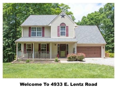 4933 E Lentz Road, Bloomington, IN 47408 - #: 201850985