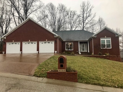 8044 Whitetail Trail, Evansville, IN 47711 - #: 201906180