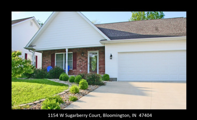 1154 W Sugarberry Court, Bloomington, IN 47404 - #: 201912274