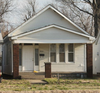 1442 E Division Street, Evansville, IN 47711 - #: 201914867