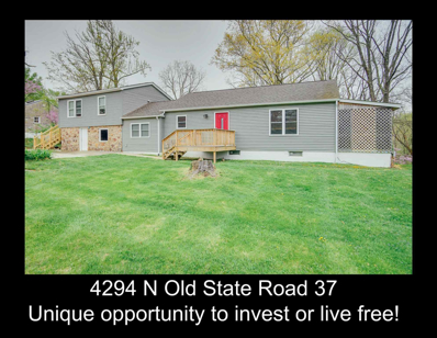 4294 N Old State Road 37 Road, Bloomington, IN 47408 - #: 201919071