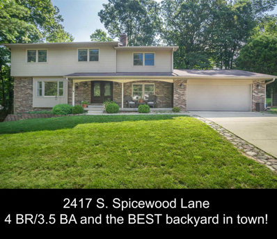 2417 S Spicewood Lane, Bloomington, IN 47401 - #: 201922843
