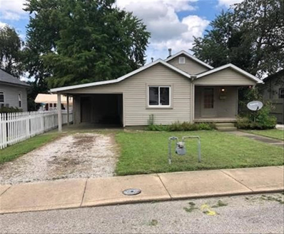 417 W Sycamore, Boonville, IN 47601 - #: 202029651