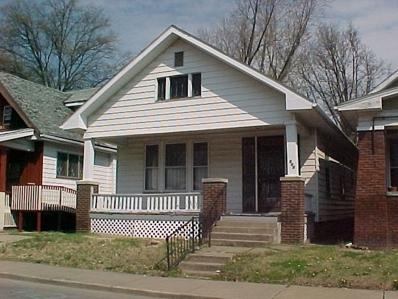 640 Madison, Evansville, IN 47713 - #: 202039685