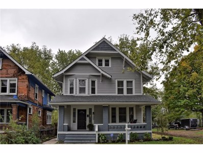 3137 Ruckle Street, Indianapolis, IN 46205 - #: 21519290