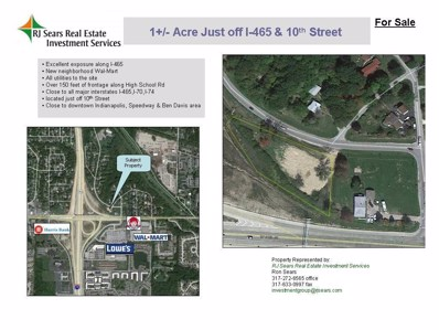 1010 High School Road, Indianapolis, IN 46222 - #: 21522023