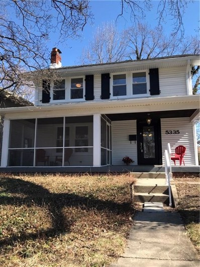 5335 Broadway Street, Indianapolis, IN 46220 - #: 21544698