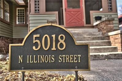 5018 N Illinois Street, Indianapolis, IN 46208 - #: 21545505